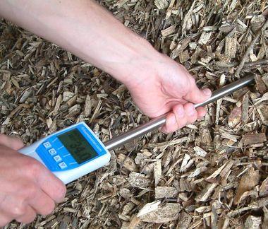 Humidimètre bois déchiqueté